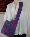 Patchwork Bag 20 purple