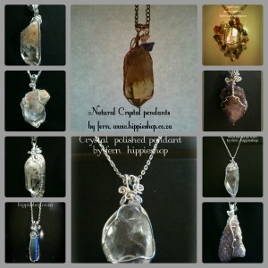 Crystal pendants collection - hand made #crystalhealing #crystalnecklace #crystalpendant