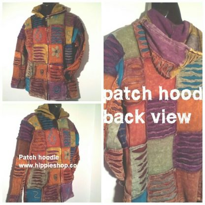 Patchwork Hoodie Jackets for men and Women - Super Quality Himalayan style Jackets